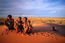 Народы Намибии - Бушмены или Сан