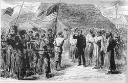Ботсвана до получения протектората Великобритании